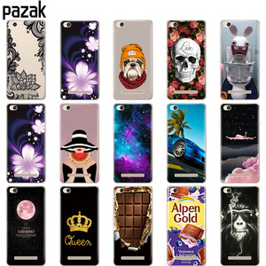 """Image 2 - Silicone phone Case For Xiaomi Redmi 4A cases Soft Silicon Painting cover for Redmi 4A Hongmi 4a 5.0 """" inch full 360 Protective"""