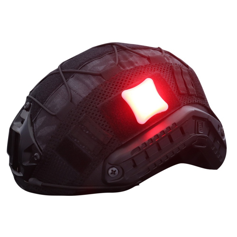 Открытый тактический Семафорный светильник, индикаторы, шлем, светильник, лампа для выживания, водонепроницаемый военный охотничий жилет, ...