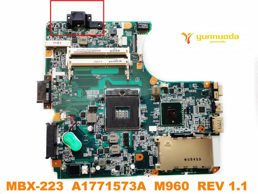 Original For SONY MBX-223 Laptop  Motherboard MBX-223  A1771573A  M960  REV 1.1  Tested Good Free Shipping