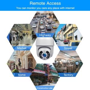 Image 2 - Home Security IP Camera WiFi Night Vision Speed Dome CCTV Camera outdoor Mini Camara wifi Video Surveillance ipcam wifi 5MP P2P