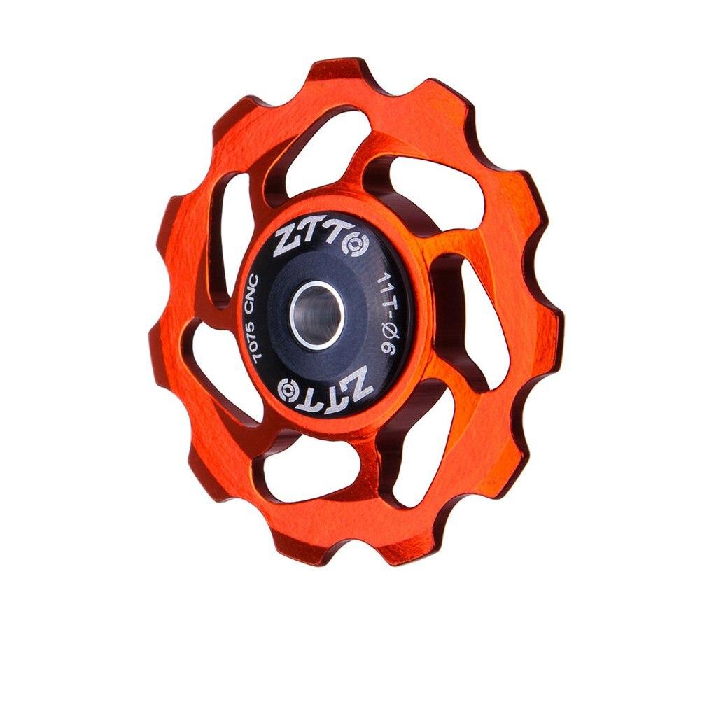 ZTTO 11T MTB Bicycle Rear Derailleur Jockey Wheel Ceramic Bearing Pulley AL7075 CNC Road Bike Guide Roller Idler 4mm 5mm 6mm