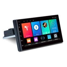 Radio Estéreo ajustable para coche, reproductor MP5 con Android 9,1, pantalla de contacto de 7 pulgadas, FM, cuatro núcleos, navegación GPS, 1 DIN