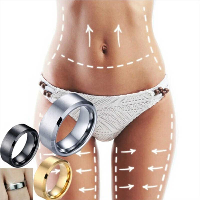 Magnetic Penurunan Berat Badan Cincin Pelangsing Kebugaran Mengurangi Berat Badan Cincin Magnetic Kesehatan Pelangsing Meningkatkan Sirkulasi Darah Kesehatan Cincin