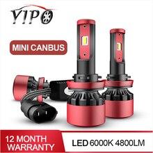 MINI CANBUS phare h4 led h11 h1 h3 h7 h11 9005 9006 hb3 hb4 csp puce voiture style lampada phare 6000k led automotivo 2 PIÈCES