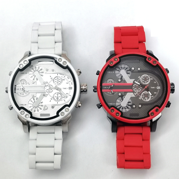 Big White Watch Men Red Fake 3-Eyed dz Watch aaa Luxury Classic Large Christmas Gifts For Watches Mens 2020 Fashion Box relojes
