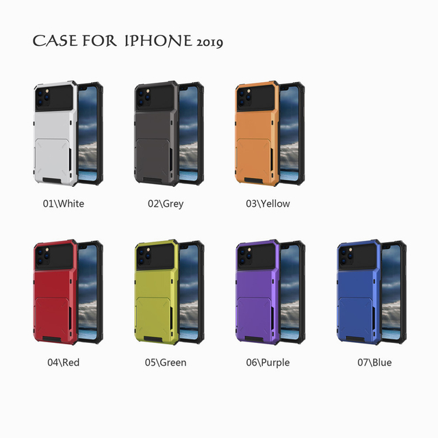 Multi Card Holder Case for iPhone 11/11 Pro/11 Pro Max 5