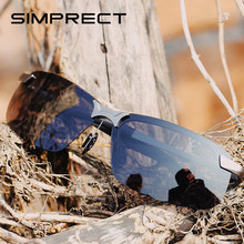 SIMPRECT Polarized Sunglasses Men 2019 Retro Sunglasses Mirror Anti-glare Driver's Sun Glasses For Men Lunette De Soleil Homme(China)