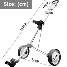 Cart-Stroller Golf-Bag Airport Push-Cart for Outdoor Training Match Luggage-Check-Carrier
