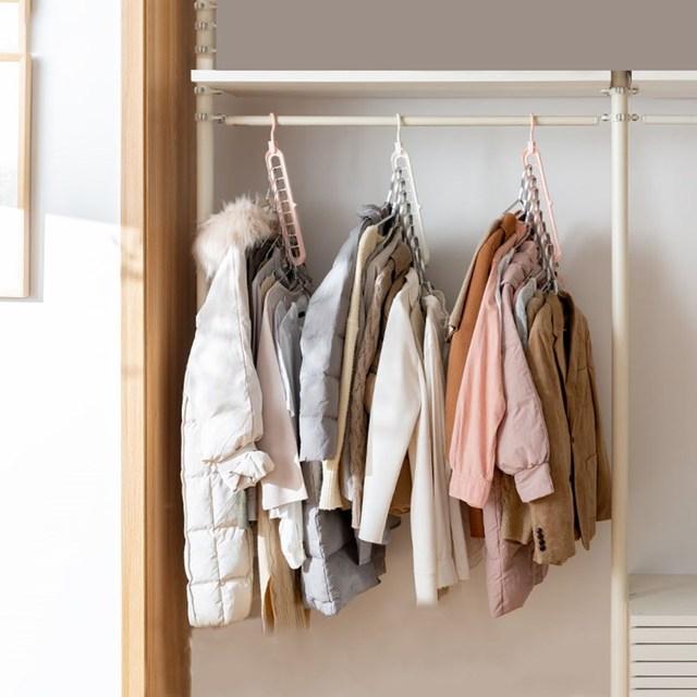 Multi-port support clothes hanger 2