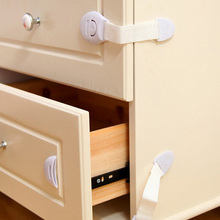 5Pcs/10pcs Creative baby safety Lock Plastic Drawer Door Toilet Cabinet Cupboard Safety