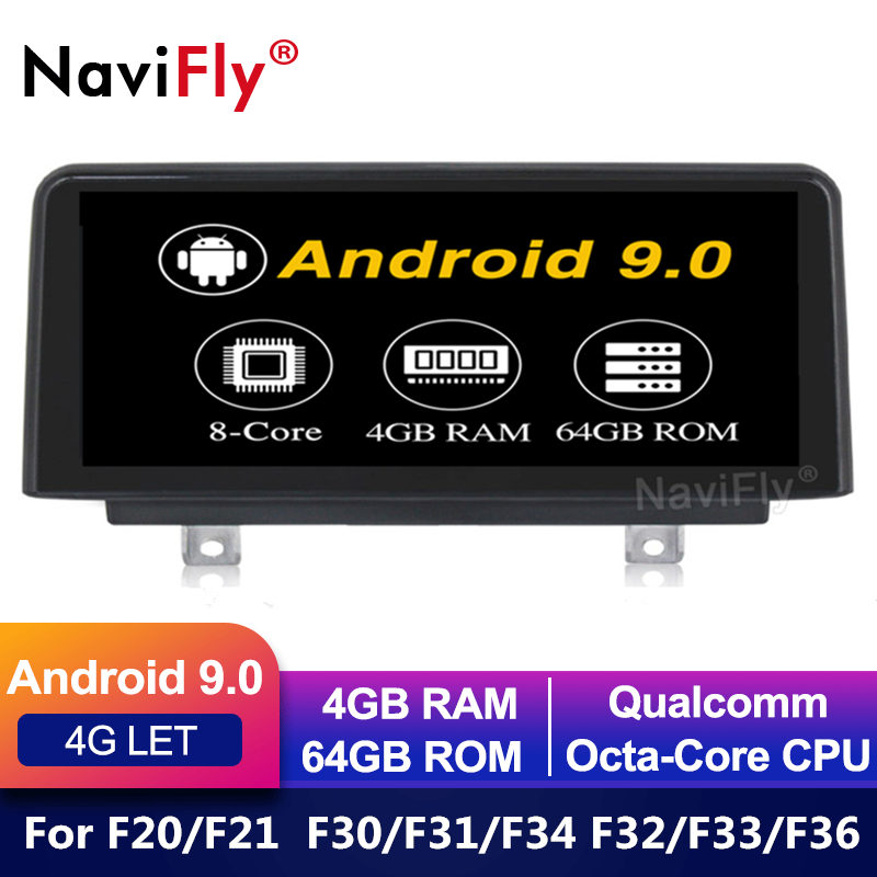Radio-Player Gps Navigation Car Multimedia Car Dvd Android 9.0 1 For F33/F36 NBT IPS