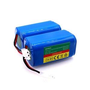100% novo 14.8v 3500mah robô aspirador de pó bateria substituição para chuwi ilife v7 v7s pro varredor robótico