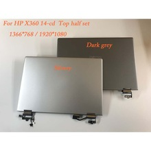 Voor HP X360 14-cd Top half set Lcd Touch screen Glas Digitizer Vergadering Pavilion 14 cd