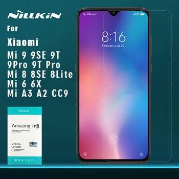 Nillkin for Xiaomi Mi 9 Pro 5G 8 9T Pro 9 SE 6 A3 A2 6X CC9 Glass 9H Tempered Glass Screen Protector for Xiaomi Mi9 Mi8 SE Lite