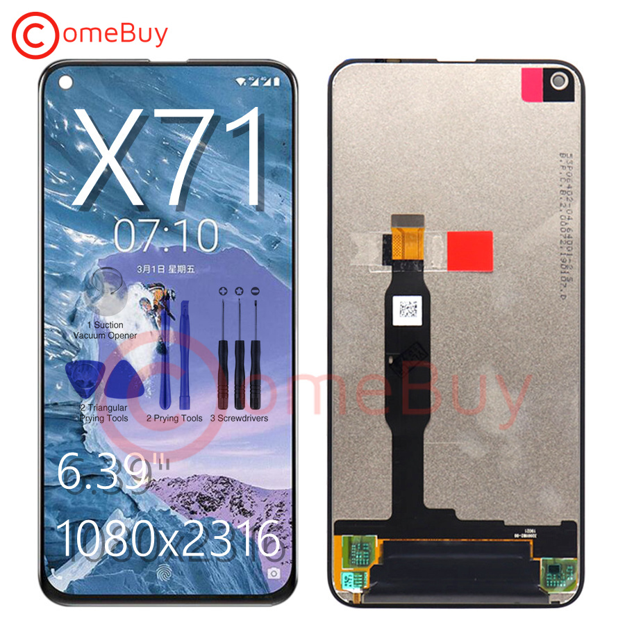 """100% Tested 6.39"""" LCD For Nokia X71 LCD Display Screen Touch Panel Digitizer Assembly TA 1172 TA 1167 For Nokia X71 LCD Replace-in Mobile Phone LCD Screens from Cellphones & Telecommunications    1"""