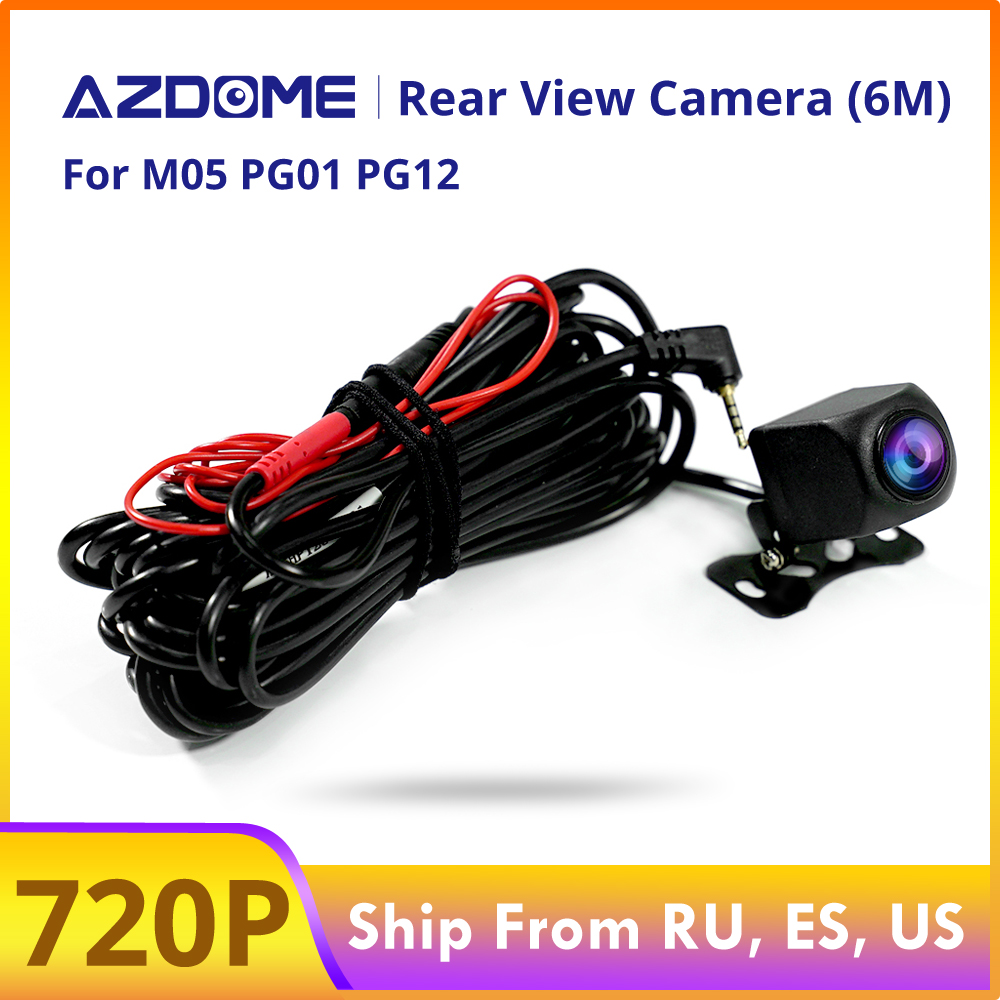 AZDOME 720P Car Rear View Camera For M05 PG01 PG12 DVR Video Recorder Waterproof  Vehicle Backup Cameras