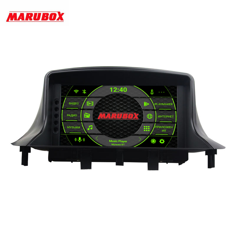 Marubox KD7237 DSP, 64 GB, head unit for Renault Megane 3 car multimedia player, Android 9.0 fs 7701039565 7702127213 for renault megane