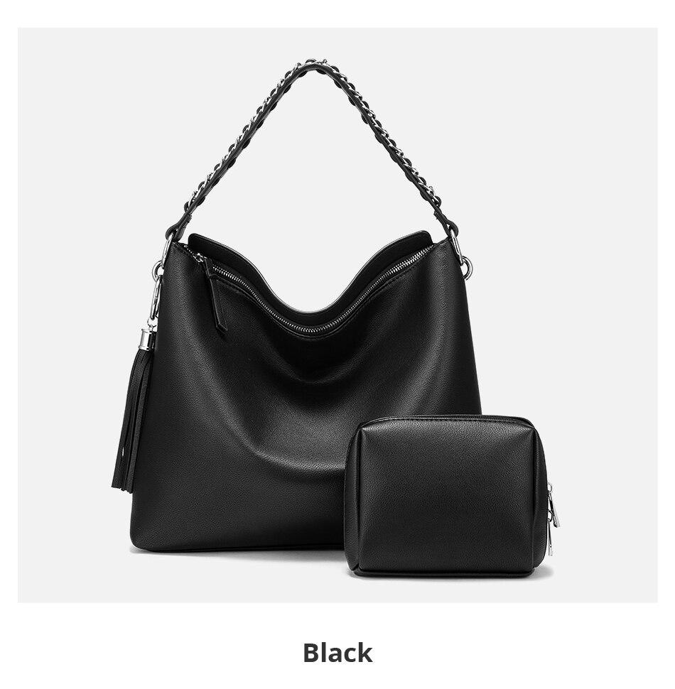 Lovevook bolsa feminina grande hobo saco conjunto