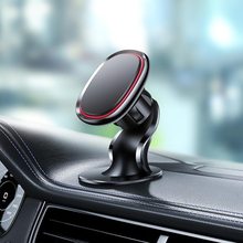 цена на Best Car Phone Holder Magnetic Stand for iPhone Xs Max XR 7 8 plus Samsung GPS Cellphone Magnet Mount 360 Rotation Holder in Car