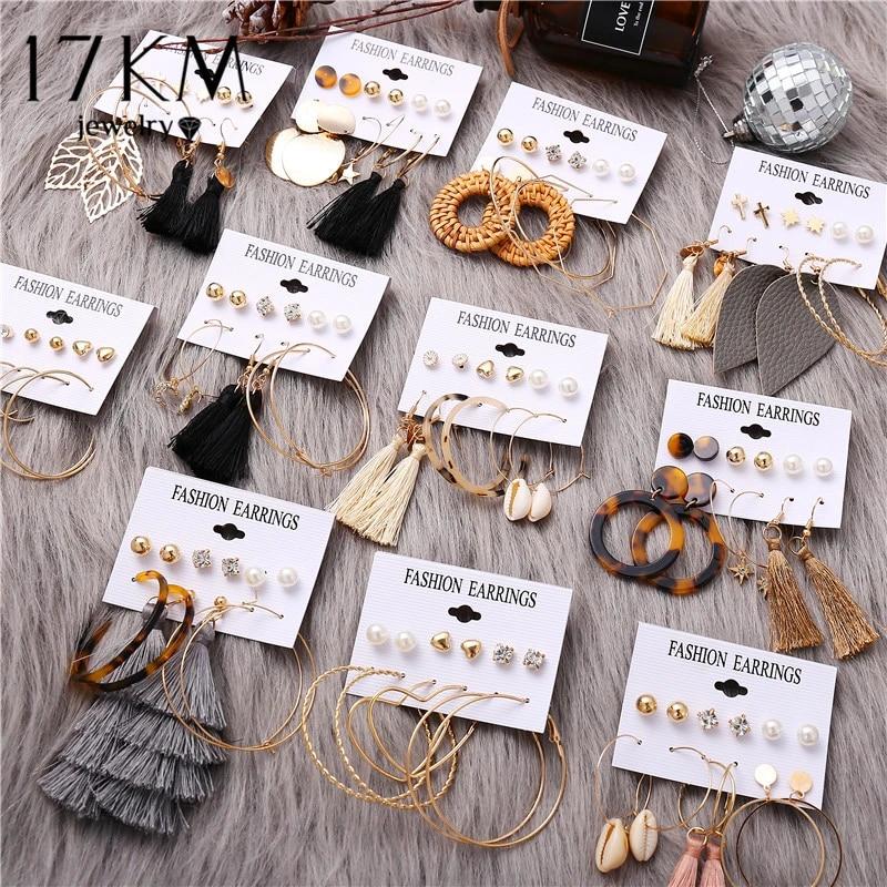 Женские акриловые висячие серьги Boho, 17 KM, 2020, Brinco, золотые Ротанговые висячие серьги из ротанга, модные ювелирные изделия