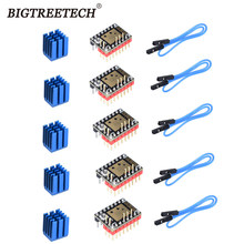 Bigtreetech placa-mãe, peças da impressora 3d vs tmc2130 tmc2100 para skr v1.3 pro