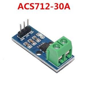 Image 4 - 10Pcs 5A 20A 30A Hal Huidige Sensor Module ACS712 Module Voor Arduino ACS712TELC  5A/20A/30A