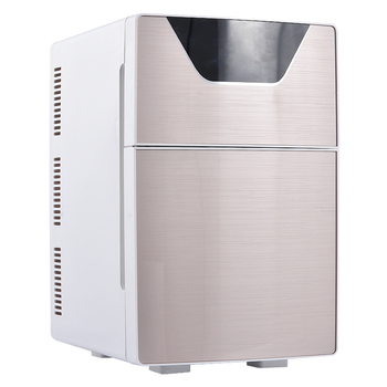 20L Car Home Refrigerator Mini Fridge AC220V/DC12V Warmer Multi-function Travel Refrigerator Portable Electric Icebox  F-L20SA