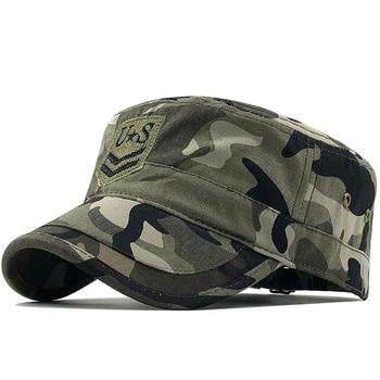 Camouflage Baseball Cap Men/Tactical US Army/Marines/Navy/Cap Trucker Flat Caps Men Camo Bones Snapback Gorras