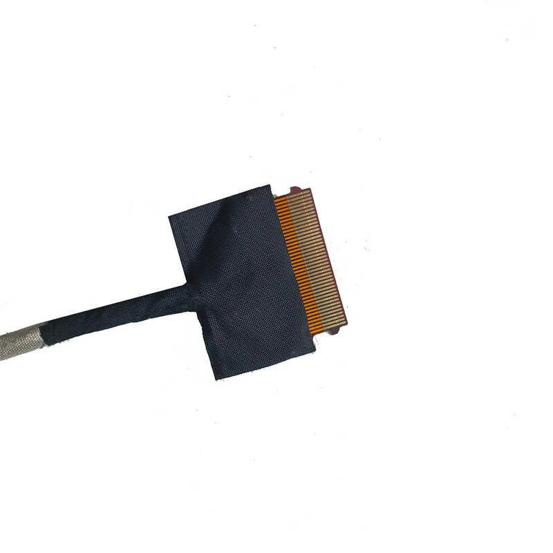 Video ekran esnek tel HP PAVILION 17-G 17-G015DX olmayan dokunmatik laptop LCD LED LVDS ekran şerit kablo DDX18ALC130 809292-001