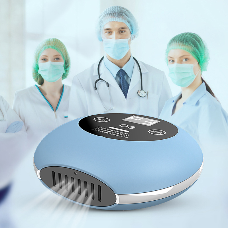 Portable Mini Ozone Generator Deodorizer Air Purifier USB Rechargeable  Small Space Pet Room Disinfection