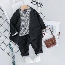 HYLKIDHUOSE 2019 Autumn Baby Boys Clothing Sets Toddler Infa