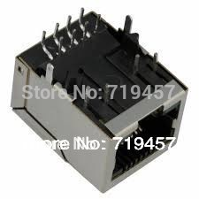 %100 NEW FREE SHIPPING 10PCS/LOT PULSE J0011D01BNL CONN MAGJACK 1PORT 100 BASE-TX free shipping 12 pairs lot 100