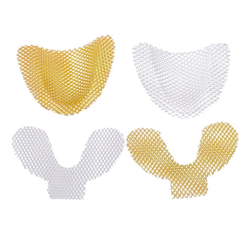 Высокое качество 20 шт./упак. стоматологический слепочный металлическая сетка лоток используется для укрепления поверхности передних