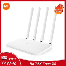 Global Version Xiaomi Mi Router 4A 100M Edition AC1200 Router 2.4GHz 5GHz Dual Band WiFi Router 64MB 4 Antennas High-Speed APP
