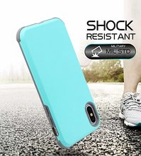 for iPhone mobile phone case anti-drop two-in-one