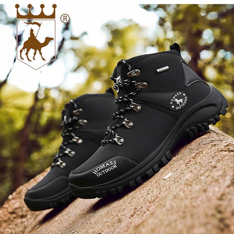 BACKCAMEL 2018 nouvelles chaussures d'extérieur automne hiver chaussures antidérapantes résistantes à l'usure pour hommes chaussures vulcanisées de haute qualité pour hommes taille 39 44