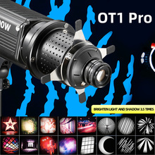 OT1 PRO 6 Kit Focalize Conical Snoots Photo Optical Condenser Art Special Effects Shaped Beam Light Cylinder for Godox FLASH
