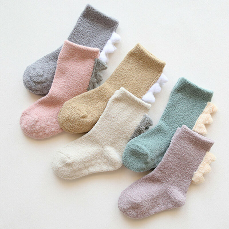 2020 Baby Kids Girls Baby Cute Cotton Knee High Cotton Socks Anti-Slip Long Leg Warmer Newborn Baby Stocking Hosiery
