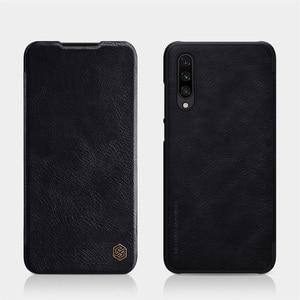 Image 2 - Tiểu Xiaomi Mi CC9 CC9e Nắp Đậy Nillkin Qin Vintage Da Flip Cover Thẻ Bỏ Túi Ví Dành Cho Tiểu mi Mi A3 Túi Đựng Điện Thoại