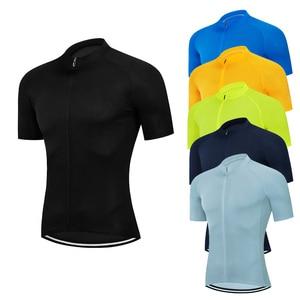 Image 2 - Men Short sleeve Cycling Jersey Mtb Road Bicycle Shirt Summer Breathable Bike Jersey Cycling Clothing Maillot Ciclismo