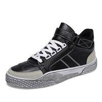 Men's Casual Flat Canvas Shoes Fashion Lace Up Round Toe Board Shoes Men Vulcanize Shoes Designer Sneakers Men Shoes Male