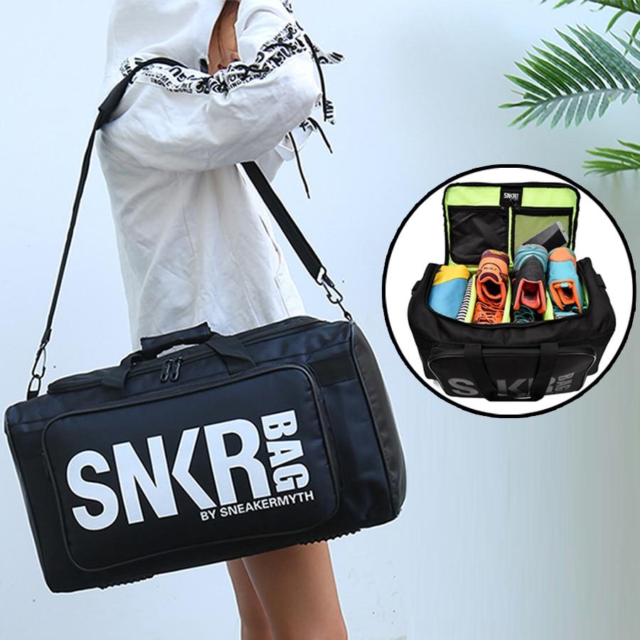 Большая многофункциональная сумка для мужчин, спортивные тренировочные сумки для спортзала, мужская сумка для кроссовок, тренажерного зал...