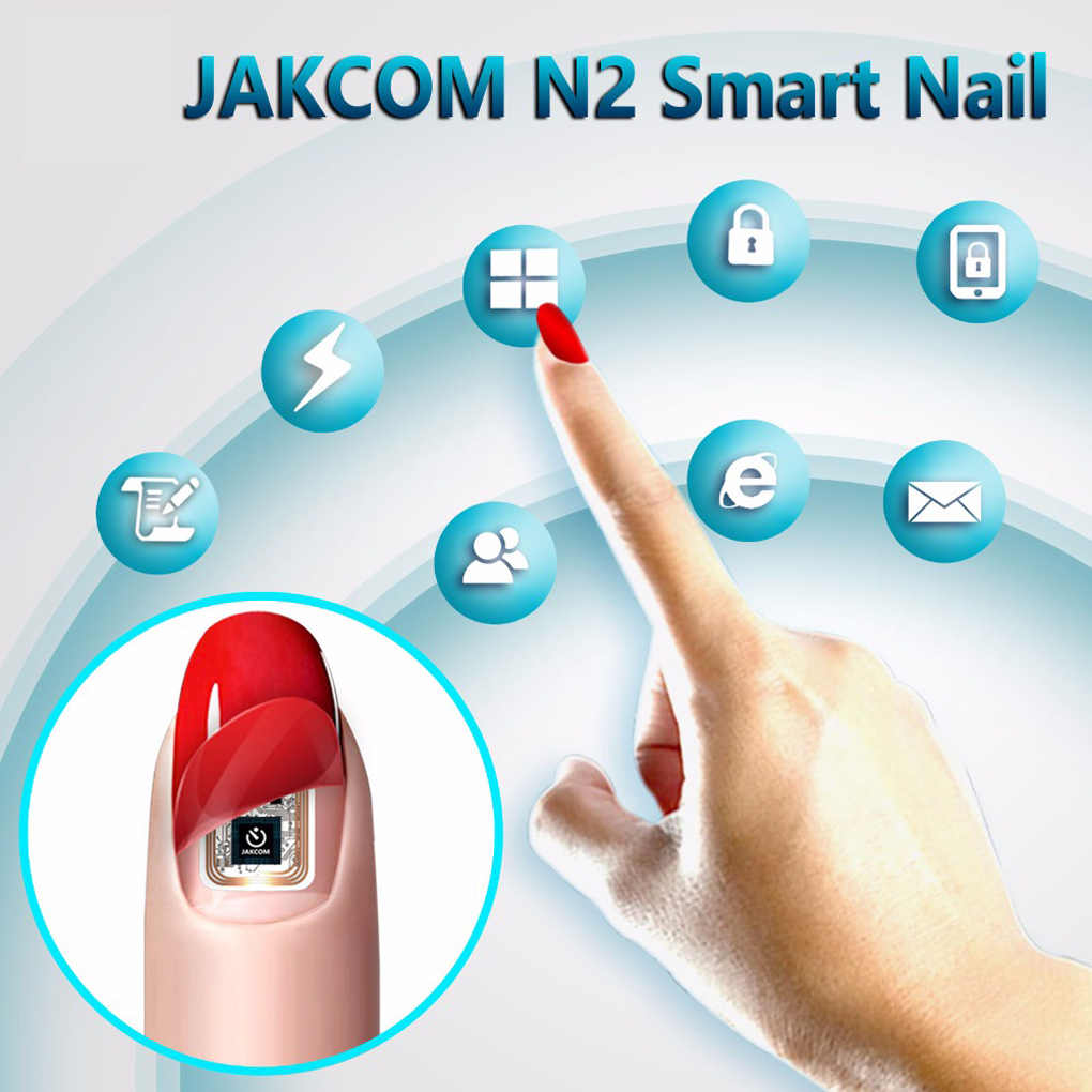 JAKCOM N2M Smart Nail New Multifunction Product Of Intelligent Accessories No Charge Required New NFC Smart Wearable Gadget