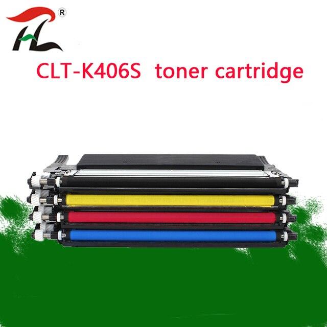 CLT406S CLT K406S CLT406S 406 406S متوافقة خرطوشة الحبر لسامسونج SL C460W SL C460FW SL C463W C460W C460FW C463W طابعة