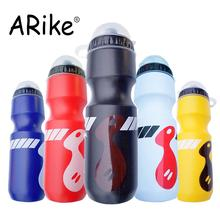 750ML Mountain Bike Bicycle Cycling Water Drink Bottle Outdoor Sports Cycling Plastic Portable Kettle Water Bottle Drinkware 750ml non toxic odorless aluminum alloy sports water bottles cycling camping bicycle bike kettle outdoor riding sports kettle