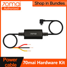 70mai kit de hardware de aparcamiento de vigilancia cable para 70mai cámara de salpicadero 4K A800 Pro amplia Mini Lite 1S hardwire kit 24H aparcamiento Monitior