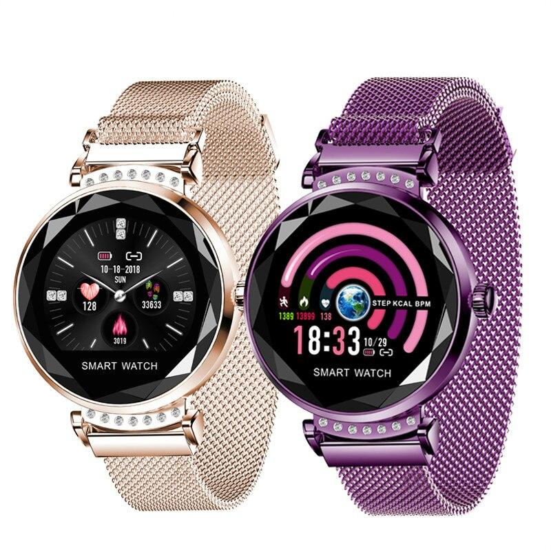 H2 Smart Watch Women Diamond Gl