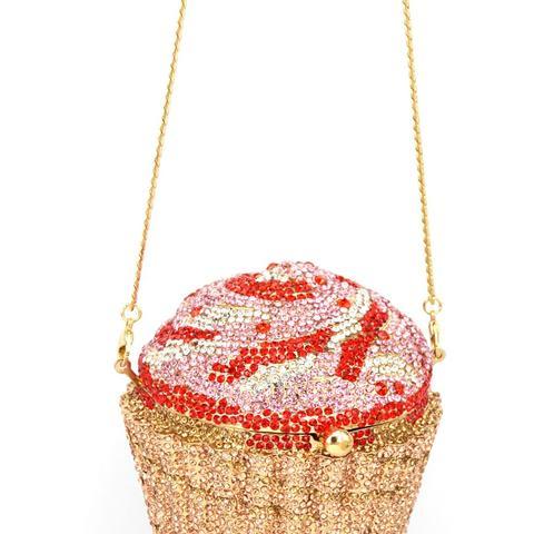 Designer Brand Luxury Crystal Evening Bag Fashion Cupcake Diamond Clutch Soiree Purse Women Wedding Bride Cake Handbags  SC515 Islamabad