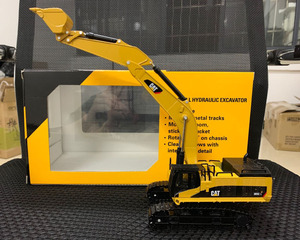 Caterpillar Cat 385C L Hydraulic Excavator Metal Tracks 1:64 Scale Diecast Model By Norscot 55203(China)