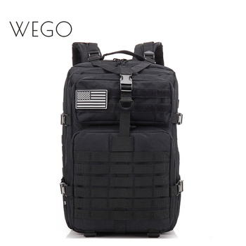 50L Tactical Backpack Large Capacity Men's Travel Commuter Backpack Tactical Backpack Camouflage Backpack Military Bag 40L Black фото